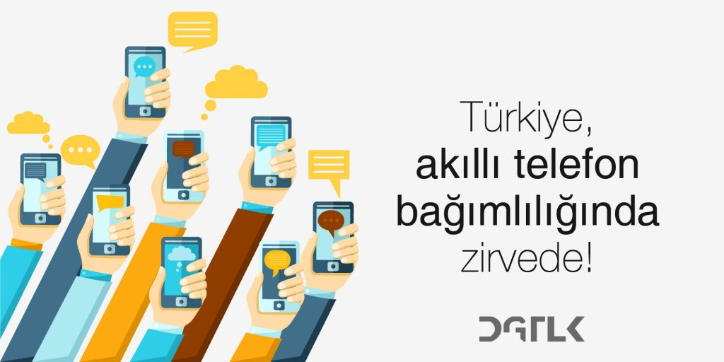 Türkiye'de sosyal medya kullanımı: Avrupa ülkeleri arasında en bağımlı ülke konumunda.